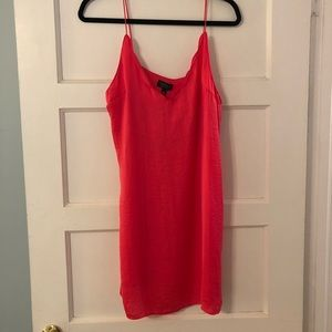 Topshop Pink slip dress